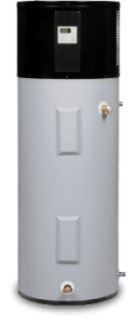 An example of our heat pump water heater